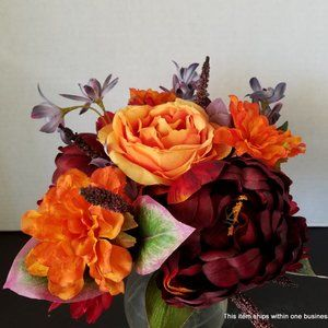 Handmade Accents - MIX ROSE and PEONY Bouquet Centerpiece